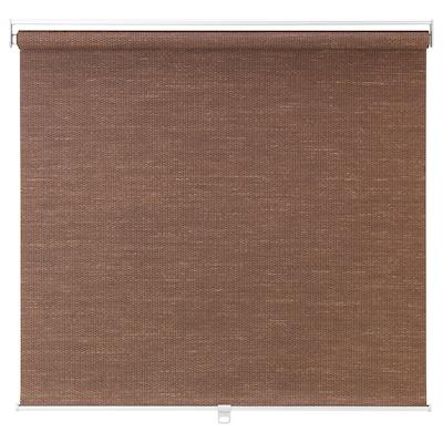 "BLEKING Roller blind, red-brown, 33x76 ¾ """