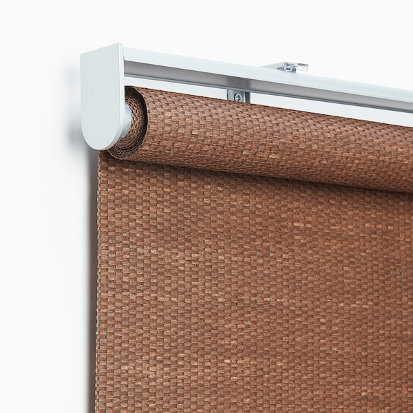 Bleking Roller Blind Red Brown 35x76 Ikea