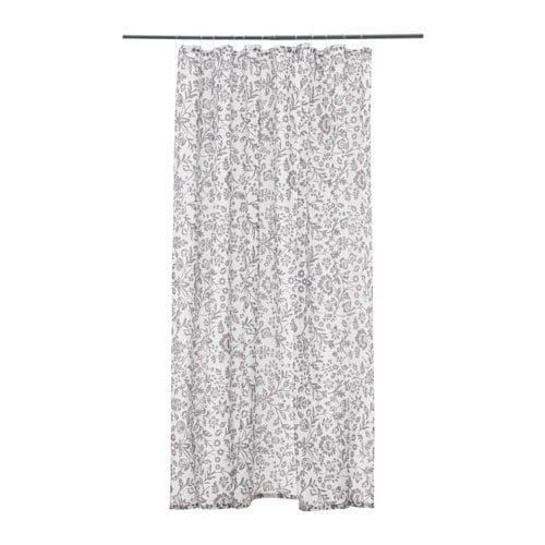 BLEKVIVA Shower Curtain. BLEKVIVA. Shower Curtain, White, Gray