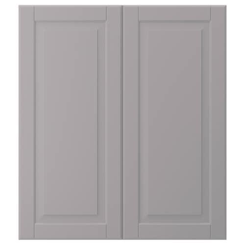 IKEA BODBYN 2-p door/corner base cabinet set