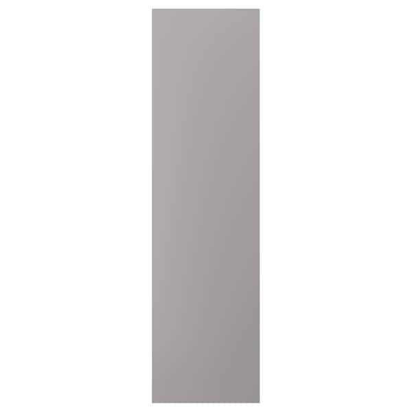 """BODBYN cover panel gray 24 5/8 """" 90 """" 1/2 """""""