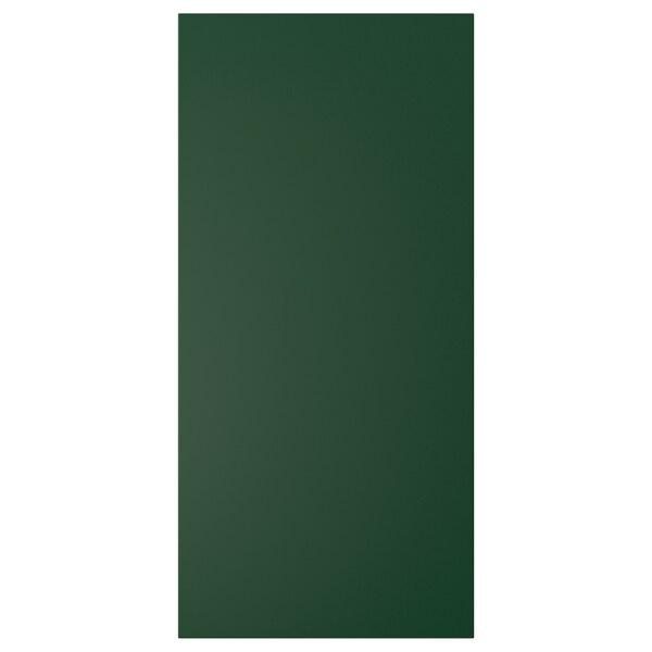 """BODBYN cover panel dark green 15 3/8 """" 32 1/2 """" 1/2 """""""