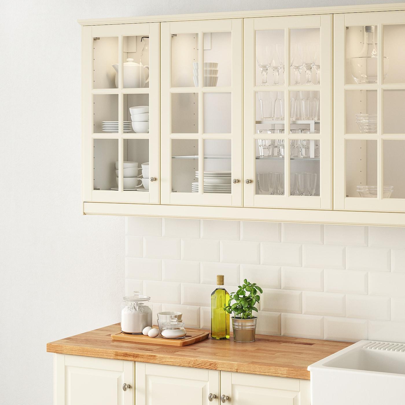 Bodbyn Glass Door Off White 18x30 Ikea