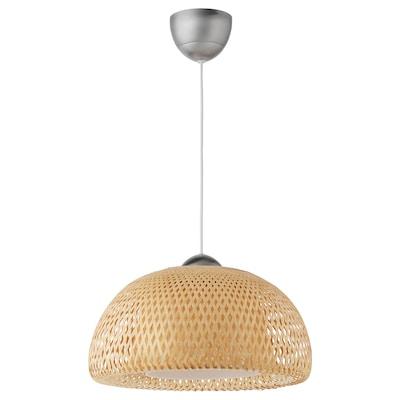 "BÖJA pendant lamp bamboo 60 W 17 "" 63 """