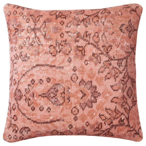BOKARV Cushion cover, cerise, 20x20 ""