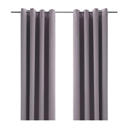 Bollolvon Blackout Curtains 1 Pair Ikea