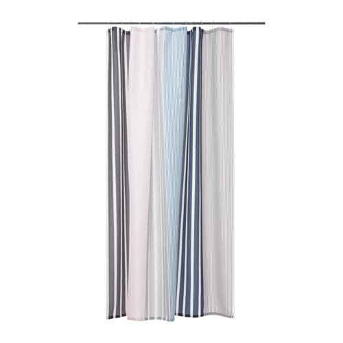 BOLMÅN Shower curtain, multicolor