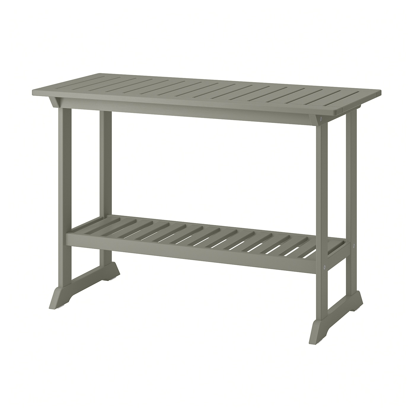 Bondholmen Console Table Outdoor Gray Stained 43 3 4x18 1 8 Ikea
