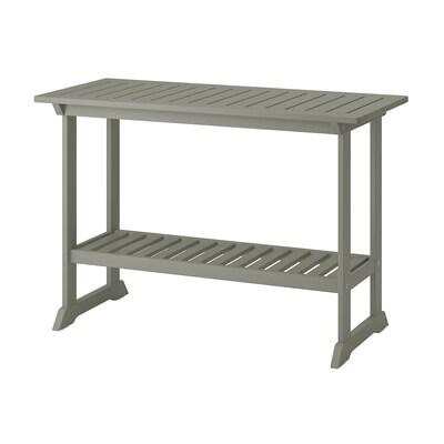 """BONDHOLMEN Console table, outdoor, gray, 43 3/4x18 1/8 """""""