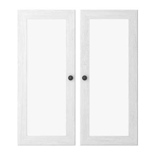 Borgsj glass door white ikea for White front door with glass