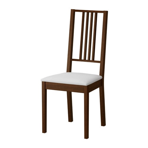B rje chair ikea for Chaise salle a manger wenge