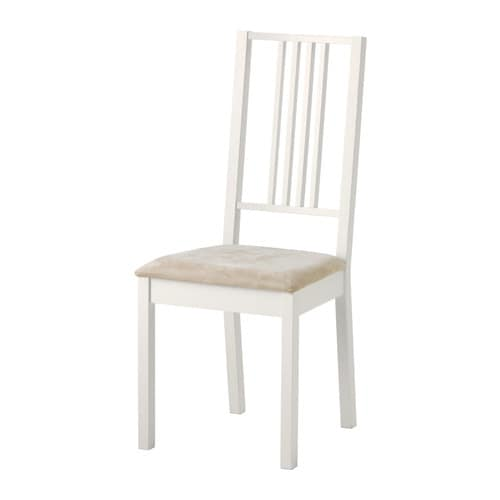 BÖRJE Chair IKEA Padded seat for increased sitting comfort.  Removable, machine washable cover; easy to keep clean.
