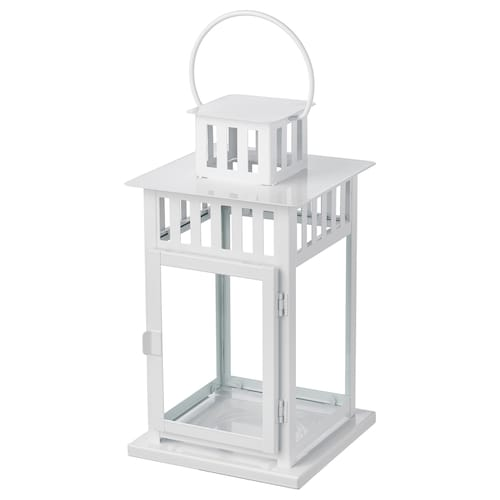 IKEA BORRBY Lantern for block candle