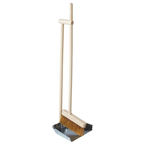 BORSTAD dustpan and broom
