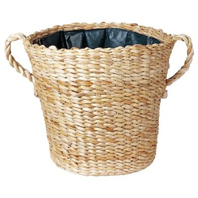 """BOTANISK plant pot banana fiber handmade 13 ¾ """" 14 ½ """" 12 ½ """" 13 ¾ """""""