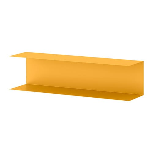 Botkyrka wall shelf yellow ikea - Etagere murale jaune ...