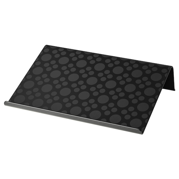 BRÄDA Laptop support, black, 16 1/2x12 1/4 ""