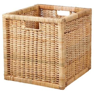 """BRANÄS Basket, rattan, 12 ½x13 ½x12 ½ """""""