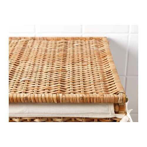 . BRAN S Laundry basket with lining   IKEA
