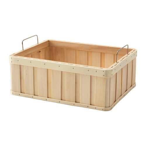 BRANKIS Basket IKEA Storing your belongings in baskets makes it easier to be organized and find what you're looking for.