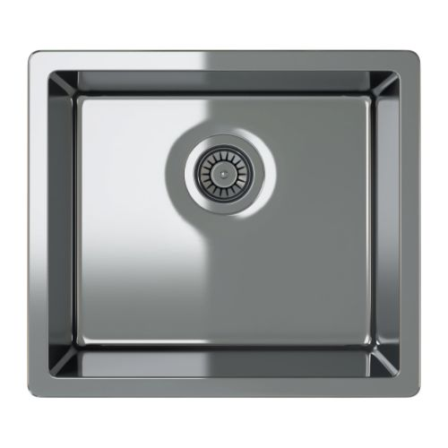 BREDSKÄR Single bowl top mount sink IKEA 25-year Limited Warranty.   Read about the terms in the Limited Warranty brochure.