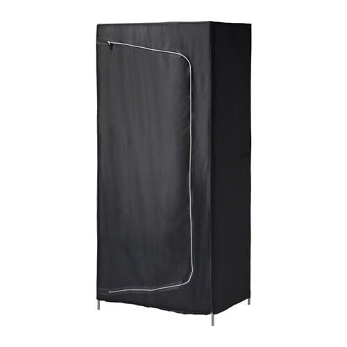 BREIM Wardrobe, black black 31 1/2x21 5/8x70 7/8