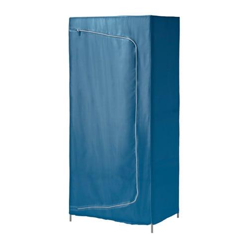 BREIM Wardrobe, blue blue 31 1/2x21 5/8x70 7/8