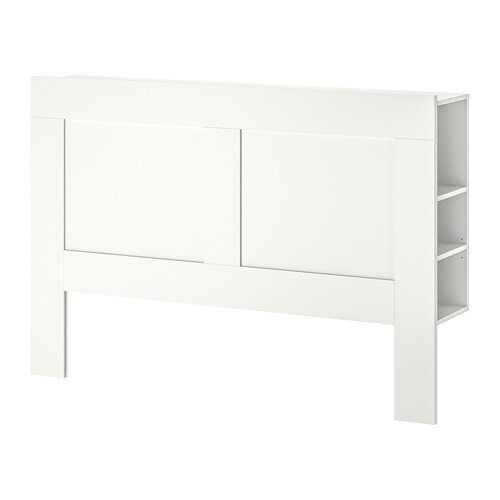 Attrayant BRIMNES Headboard With Storage Compartment