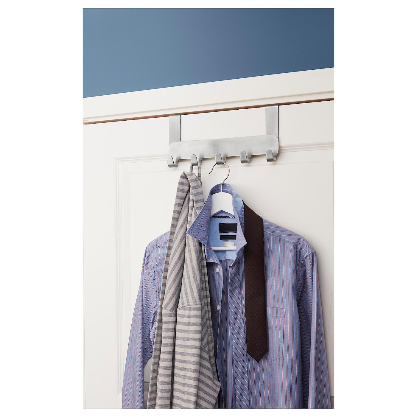 """BROGRUND hanger for door stainless steel 1 ½ """" 11 ½ """" 5 ½ """""""