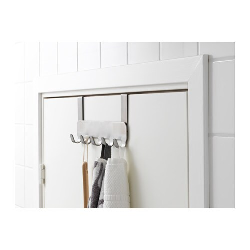 BROGRUND Hanger For Door IKEA Covered Back Prevents Scratching Of Door.  Hanging Storage Helps You