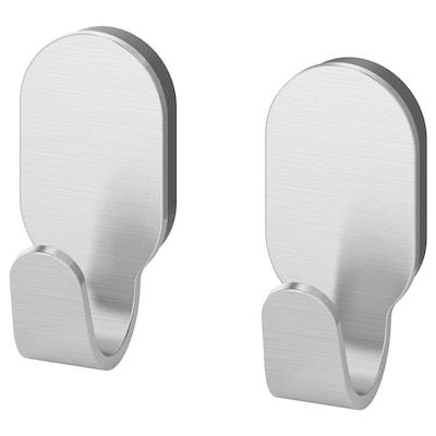 """BROGRUND hook stainless steel 1 ¼ """" 1 ½ """" 2 ¾ """" 2 pack"""