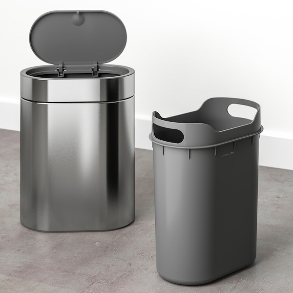 Brogrund Touch Top Trash Can Stainless