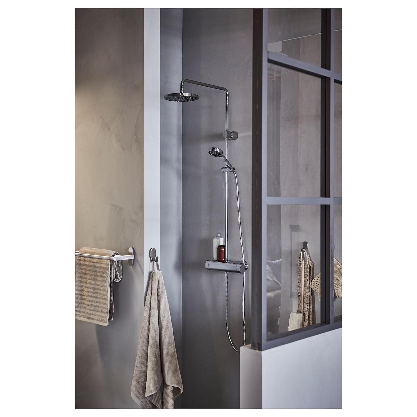 Brogrund Towel Rail Stainless Steel 26 Ikea