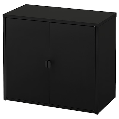 "BROR cabinet with 2 doors black 29 7/8 "" 15 3/4 "" 26 "" 55 lb"
