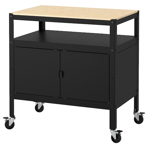IKEA BROR Cart with closed storage