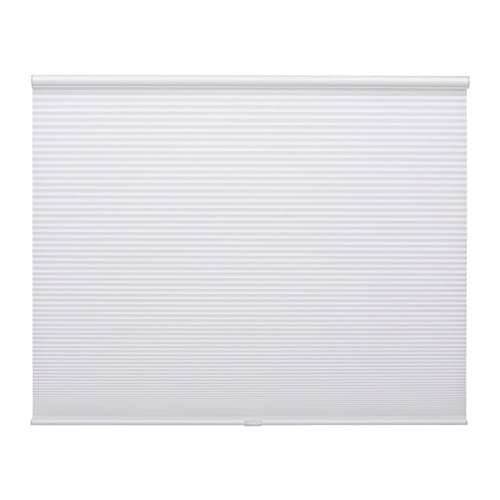 Bruddans pleated blind white 36x64 ikea for Pleated shades ikea