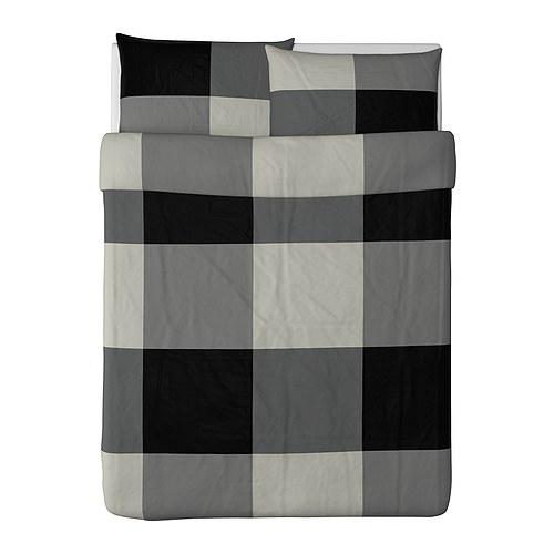 brunkrissla duvet cover and pillowcase s full queen double queen ikea brunkrissla duvet cover and - Duvet Covers Ikea