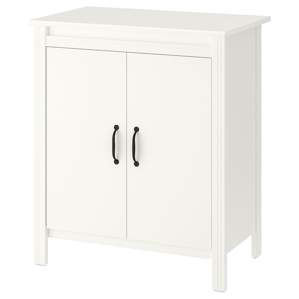 """BRUSALI Cabinet with doors, white, 31 1/2x36 5/8 """""""