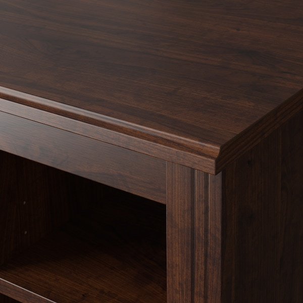 BRUSALI Desk, brown, 35 3/8x20 1/2 ""