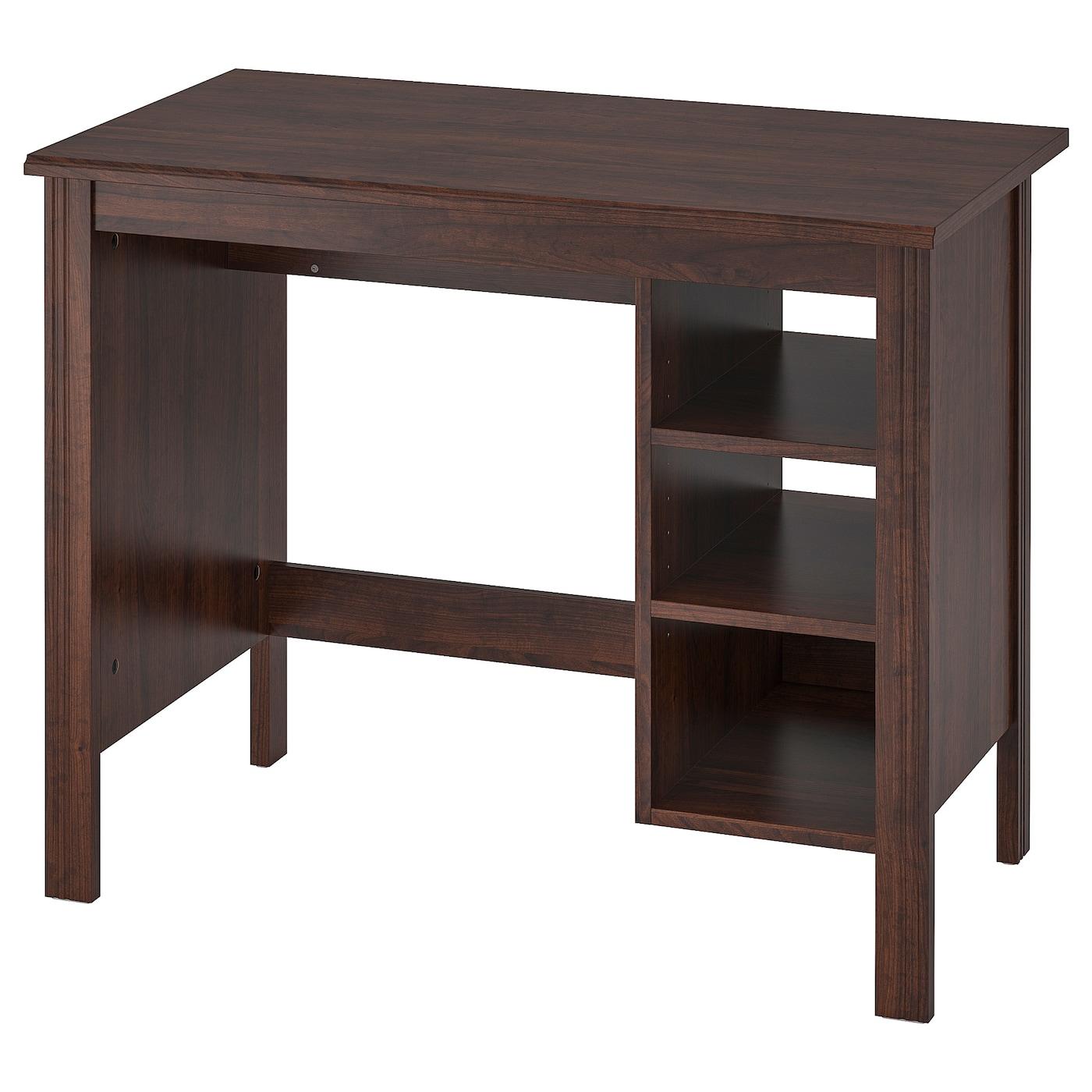Brusali Desk Brown 35 3 8x20 1 2 Ikea