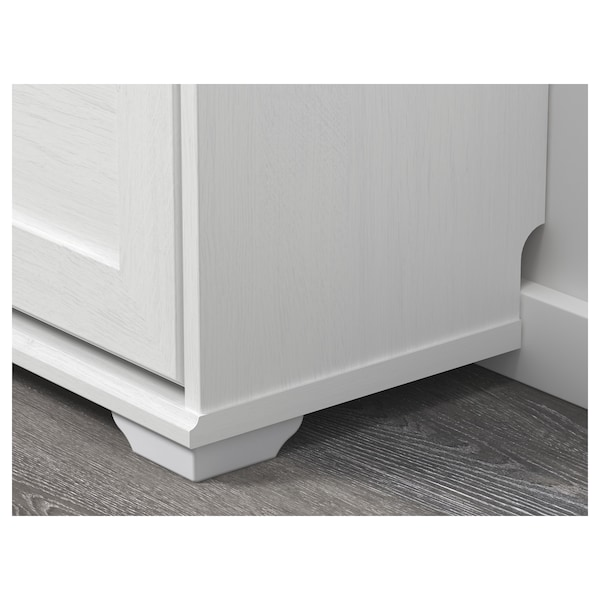 IKEA BRUSALI Shoe cabinet with 3 compartments