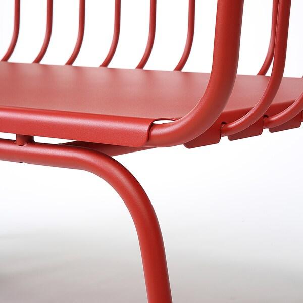 BRUSEN Sofa, outdoor, red