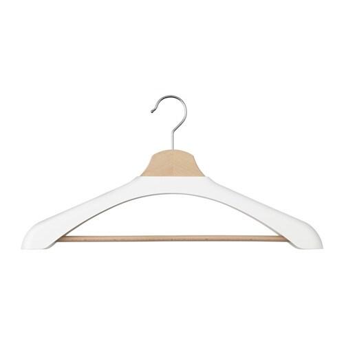 BUMERANG Shoulder shaper for hanger, white