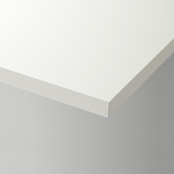 "BURHULT Shelf, white, 23 1/4x7 7/8 """