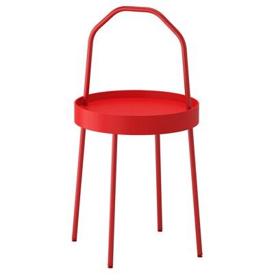 """BURVIK side table red 30 3/4 """" 17 3/4 """" 15 """""""