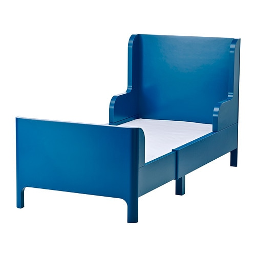 Ikea Raumteiler Regal Mit Schreibtisch ~ BUSUNGE Extendable bed IKEA Extendable, so it can be pulled out as