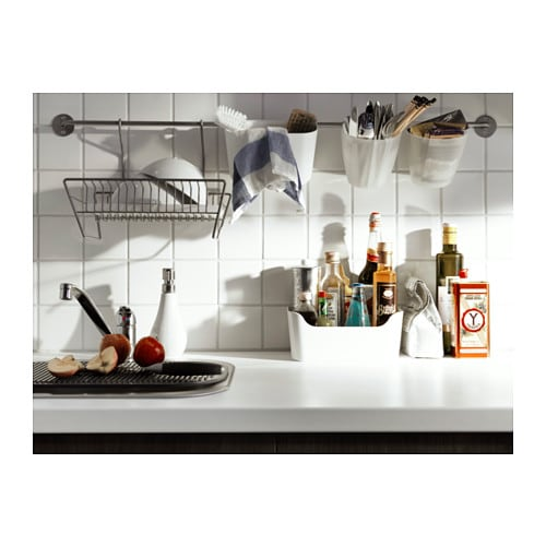 New ikea gamleby wall shelf bygel dish drainer living in indonesia - Egouttoir vaisselle ikea ...