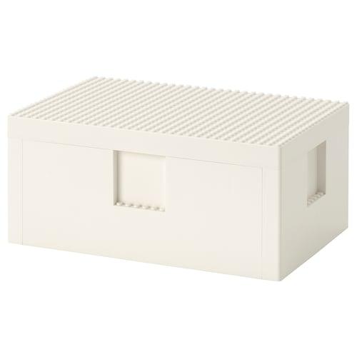Medium IKEA x LEGO BYGGLEK Storage Box Limited Edition NEW 10x6 7//8x4 1//2