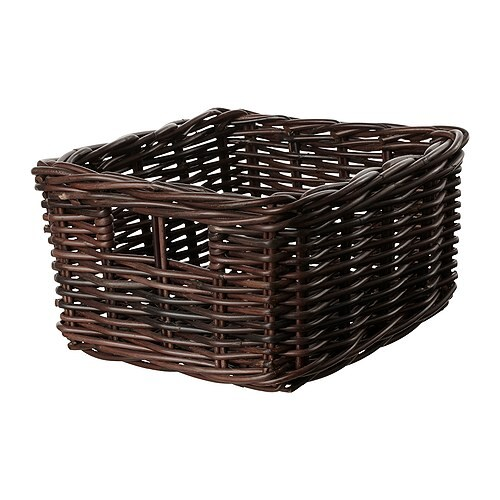 byholma basket brown 9 x11 x6 ikea