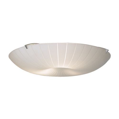 CALYPSO Ceiling lamp IKEA Frosted glass gives no-glare general light.